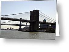 New York Bridge 5 Greeting Card