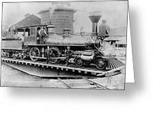 New York Central, 1880 Greeting Card