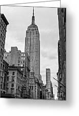 New York City - Usa Greeting Card