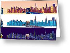 New York City - All Day Greeting Card