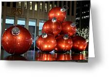 New York City Baubles 2 Greeting Card