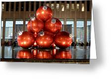 New York City Baubles Greeting Card