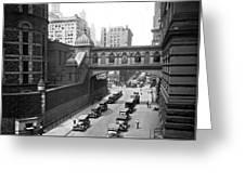 New York City Bridge Of Sighs Greeting Card