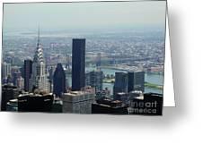 New York City Chrysler Building Greeting Card