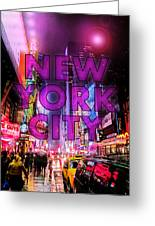 New York City - Color Greeting Card
