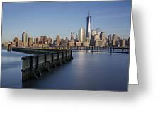 New York City Financial District Greeting Card