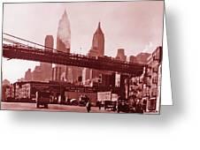 New York City Fine Art 102 Greeting Card