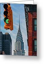 New York City, New York State, United Greeting Card