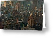 New York City Posterized Greeting Card