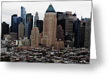 New York City Skyline 19 Greeting Card