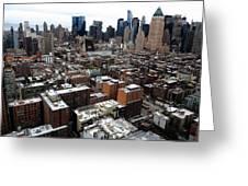 New York City Skyline 20 Greeting Card
