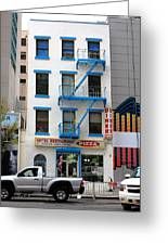 New York City Storefront 5 Greeting Card