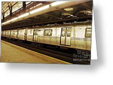 New York City Subway 2 Greeting Card