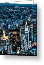 New York City Triptych Part 1 Greeting Card