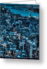 New York City Triptych Part 3 Greeting Card