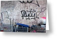 New York City Wall Greeting Card