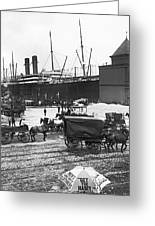 New York City Waterfront Greeting Card