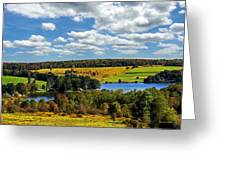 New York Countryside Greeting Card by Christina Rollo