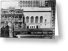 New York Curb Market, 1921 Greeting Card