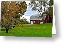 New York Farm Greeting Card