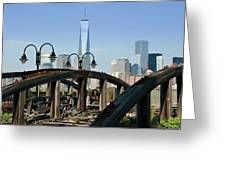New York From New Jersey - Image 1633-01 Greeting Card