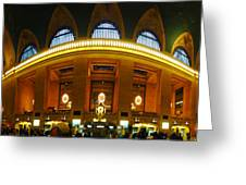 New York - Grand Central Station Greeting Card