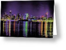 New York In Color Greeting Card