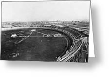 New York Motordrome, C1912 Greeting Card