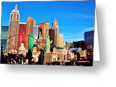 New York Nevada Greeting Card