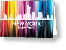 New York Ny 2 Greeting Card