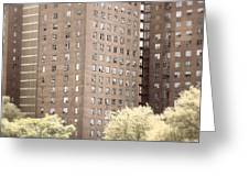 New York Public Housing Greeting Card