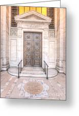 New York Public Library Entrance I Greeting Card