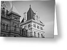 New York State Capitol Building Greeting Card