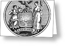 New York State Seal Greeting Card
