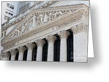 New York Stock Exchange I Greeting Card