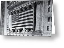 New York Stock Exchange Iv Greeting Card