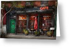 New York - Store - Greenwich Village - Sweet Life Cafe Greeting Card