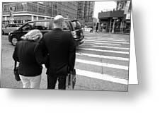 New York Street Photography 13 Greeting Card