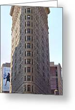 New York - The Flat Iron Building Greeting Card