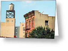 New York Water Tower 3 Greeting Card