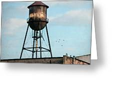 New York Water Tower 7 Greeting Card