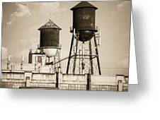 New York Water Tower 8 - Williamsburg Brooklyn Greeting Card