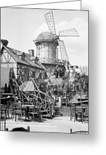 New York Windmill, C1905 Greeting Card