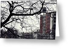 New York Winter Day 2 Greeting Card
