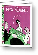 New Yorker April 10th, 1926 Greeting Card