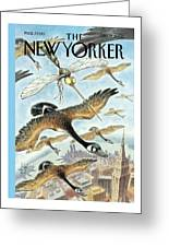 New Yorker April 17th, 2000 Greeting Card