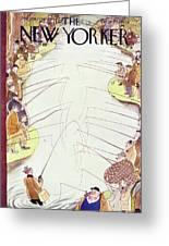 New Yorker April 18 1936 Greeting Card