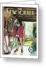 New Yorker April 18th, 1970 Greeting Card