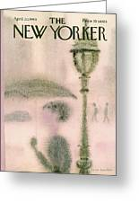 New Yorker April 20th, 1968 Greeting Card
