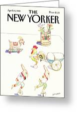 New Yorker April 20th, 1981 Greeting Card